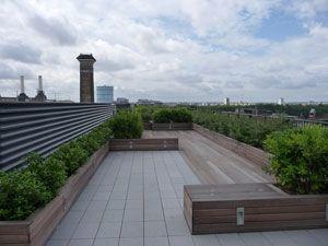 Roof Terrace Rooftop Garden Roof Garden Rooftop Terrace