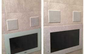 Pin By Avis Electronics On Bathroom Tv S Tv In Bathroom Waterproof Tv Bathroom Mirror