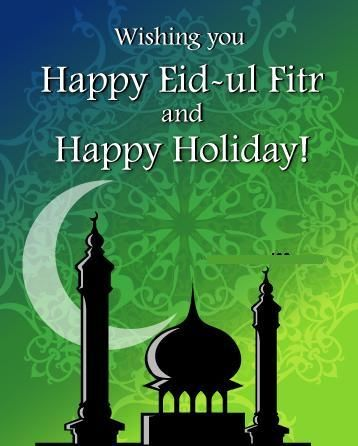 Muslims Celebrate The End Of Ramadan With The Eid Al Fitr Holiday