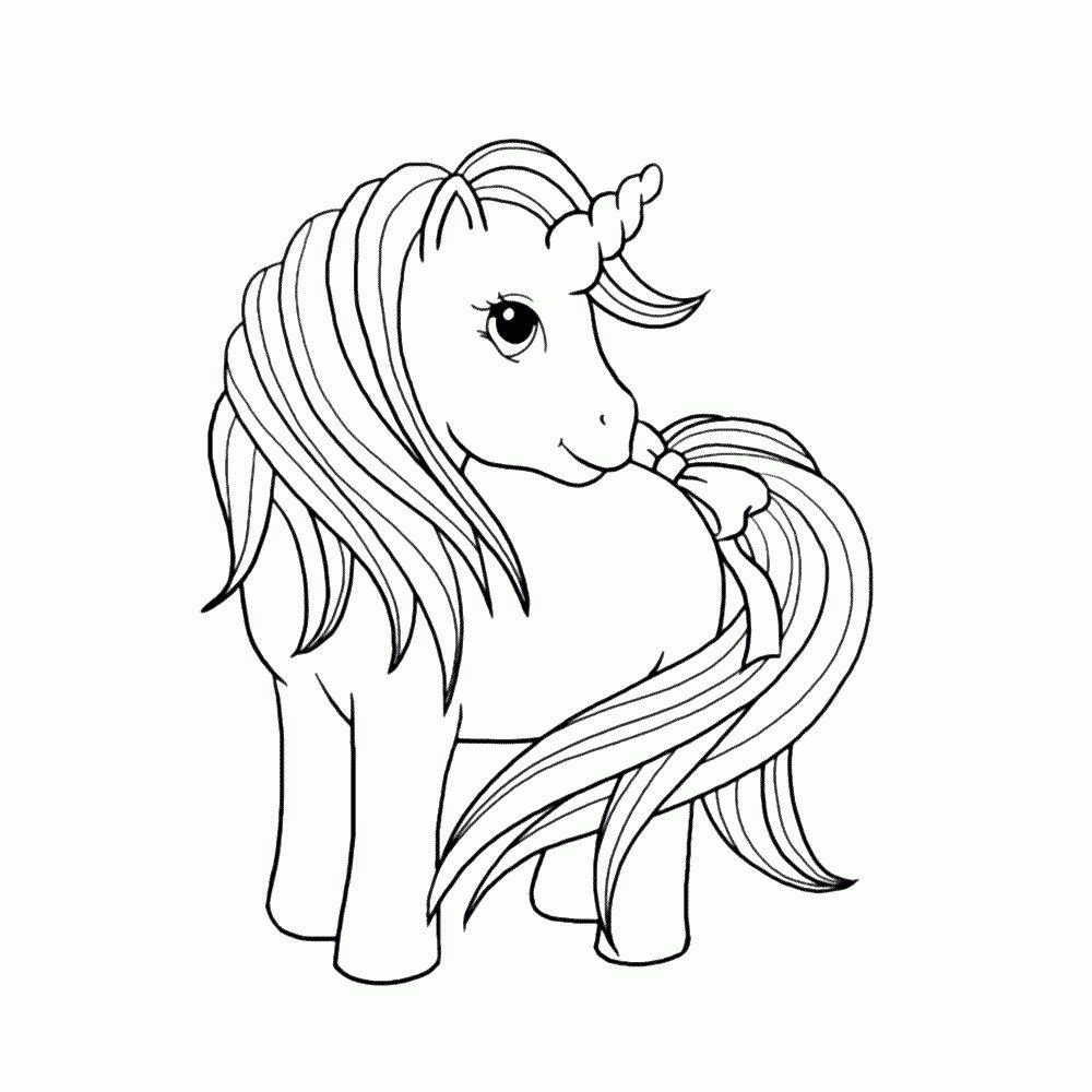 unicorn paard kleurplaat met afbeeldingen dieren