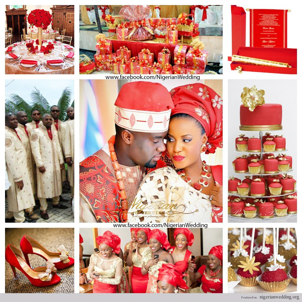 Nigerian Wedding Pictures Google Search African Inspired Wedding Wedding Colors Red Wedding Colors