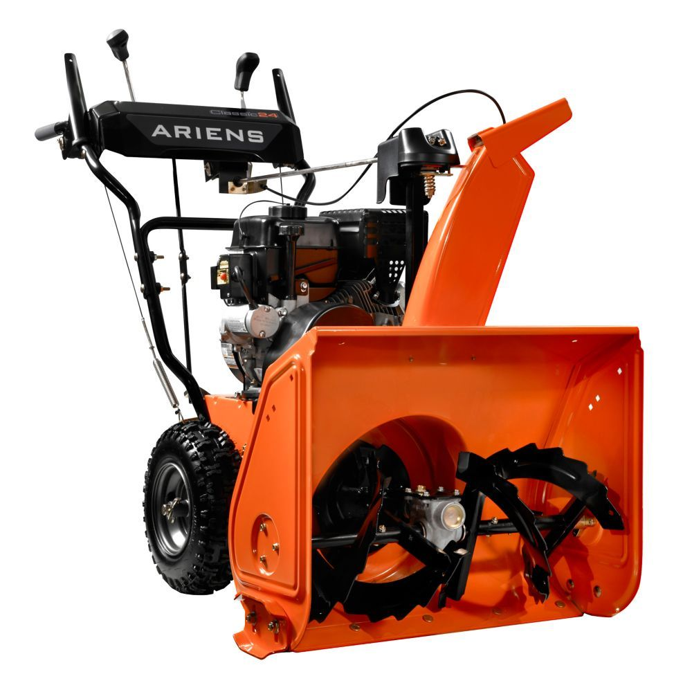 24 Inch 2 Stage Electric Start Gas Powered Snow Blower Gas Snow