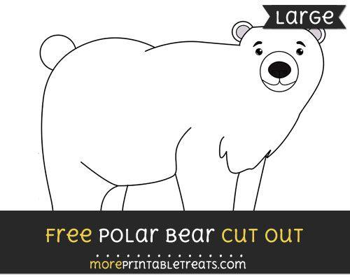 Free Polar Bear Cut Out