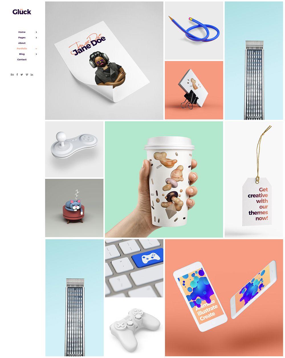 Portfolio Masonry Digital Agencies Portfolio Design Creative Agency
