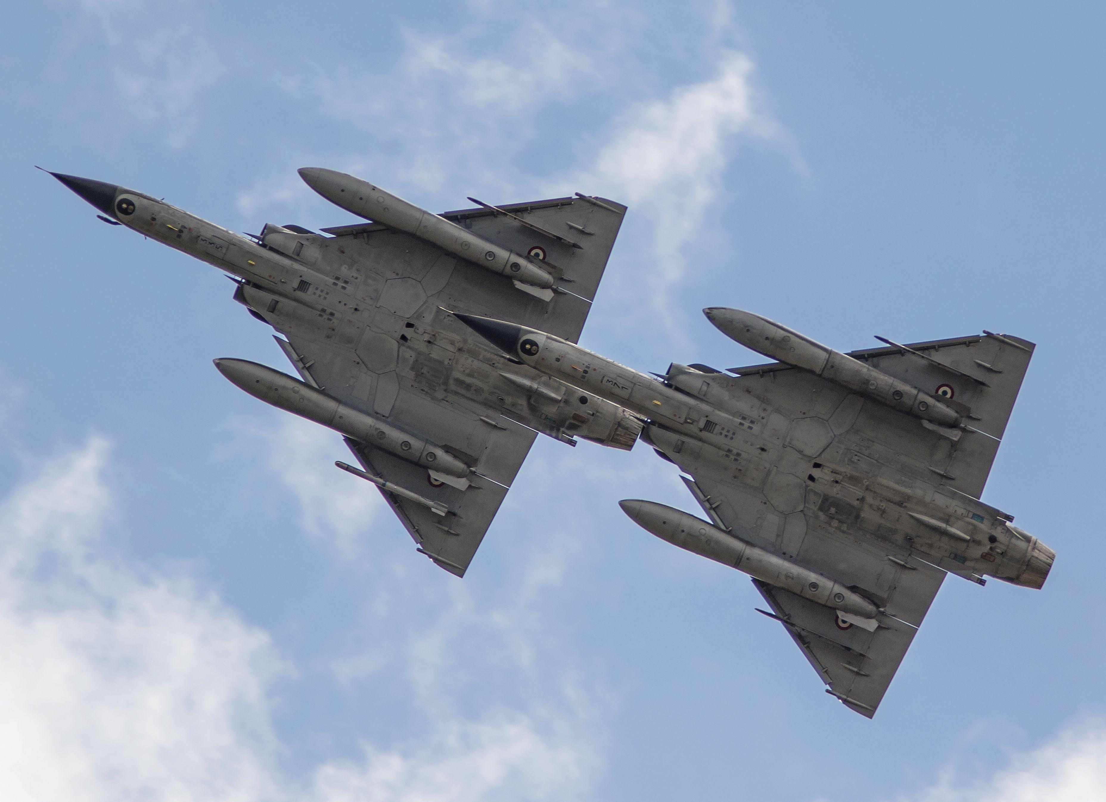 Military Dassault Mirage 2000 Jet Fighter Aircraft