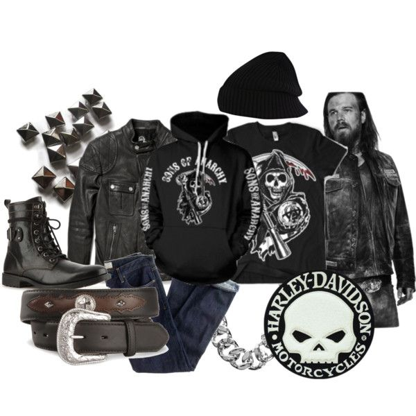 Designer Clothes Shoes Bags For Women Ssense Biker Chic Edgy Fashion Sons Of Anarchy