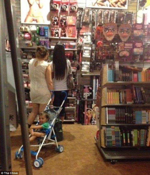lady adult market toys