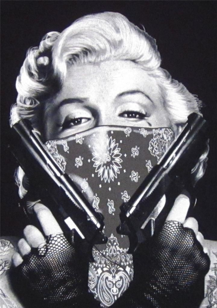 Details about MARILYN MONROE T-shirt Tattoo Bandit Tee ...