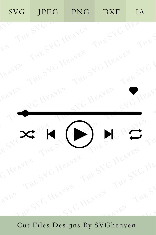 Tik Tok Glass Art, Song Art svg, Music Player SVG, music