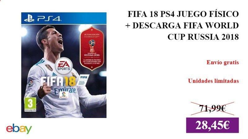 Fifa 18 Ps4 Juego Fisico Descarga Fifa World Cup Russia 2018