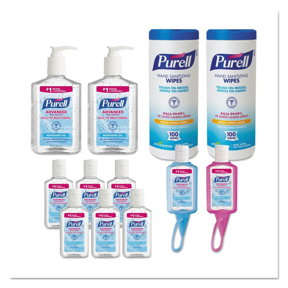 Purell Advanced Hand Sanitizer 1oz Jelly Wrapped Travel Sized