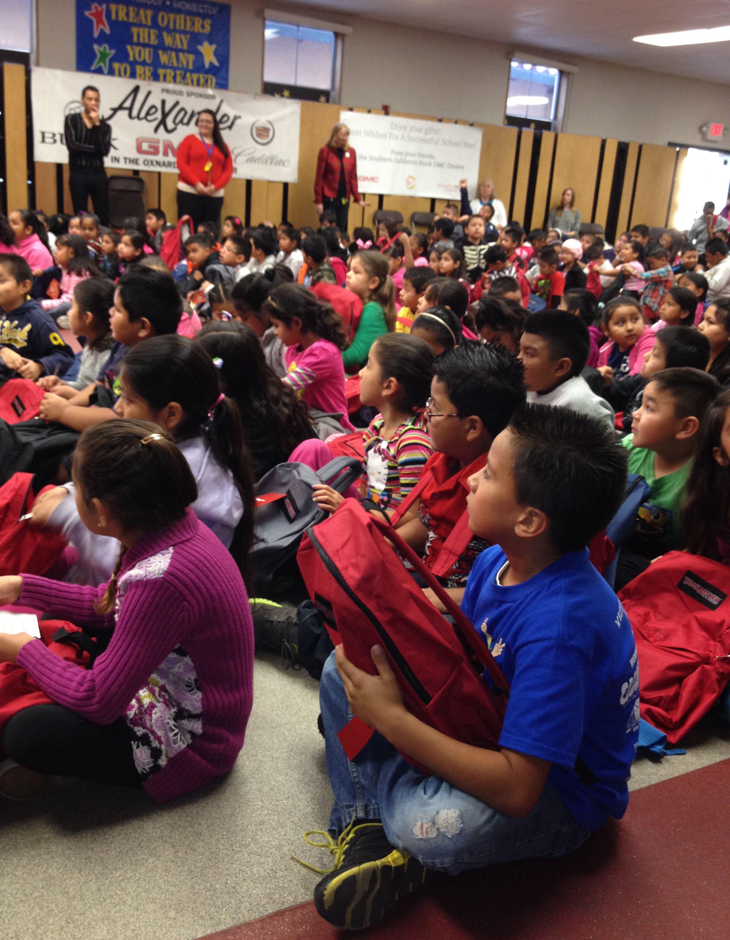All 550 Students At Ramona Elementary School In Oxnard