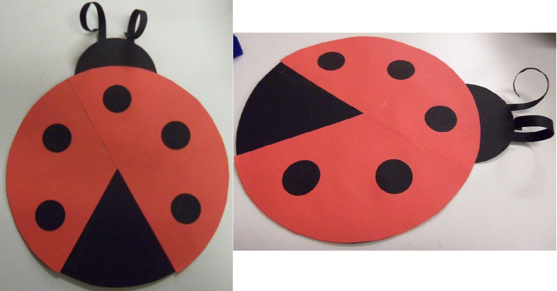 Craft Monday - Ladybug Craft | School | Pinterest