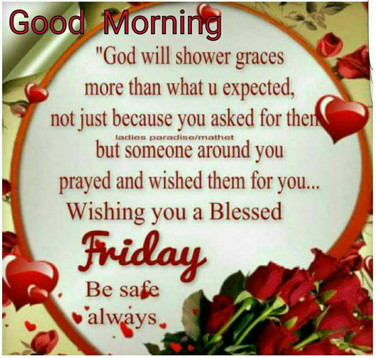 Good Morning Friday Blessings | Good morning friday, Happy ...