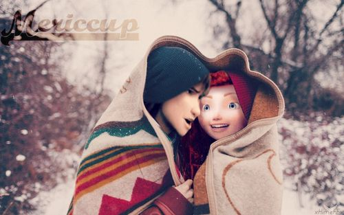 Description: relationship: orphans, names: Hercules and Mercy, ages: twelve and thirteen, likes: snow, travel, people and funny things, want a good home together!