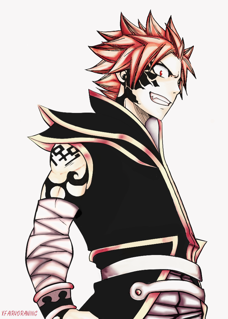 (Please let natsu be this hot when he turns into END ...
