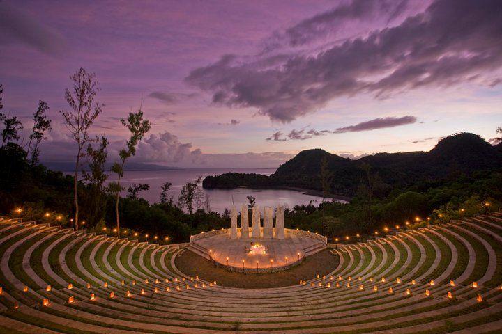 Misibis Bay, Bicol's premier resort  Bacacay, Albay