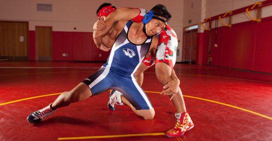 asics wrestling clothes