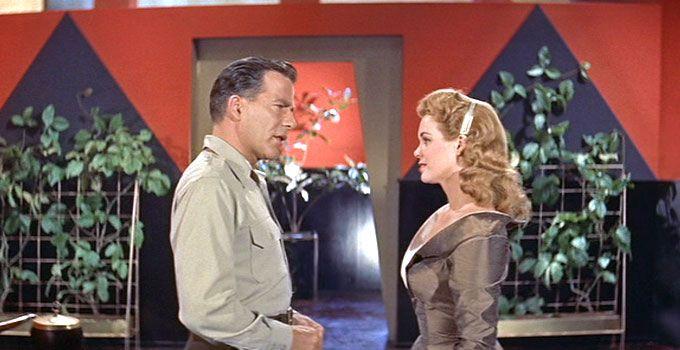 World Without End (1956) Hugh Marlowe & Nancy Gates