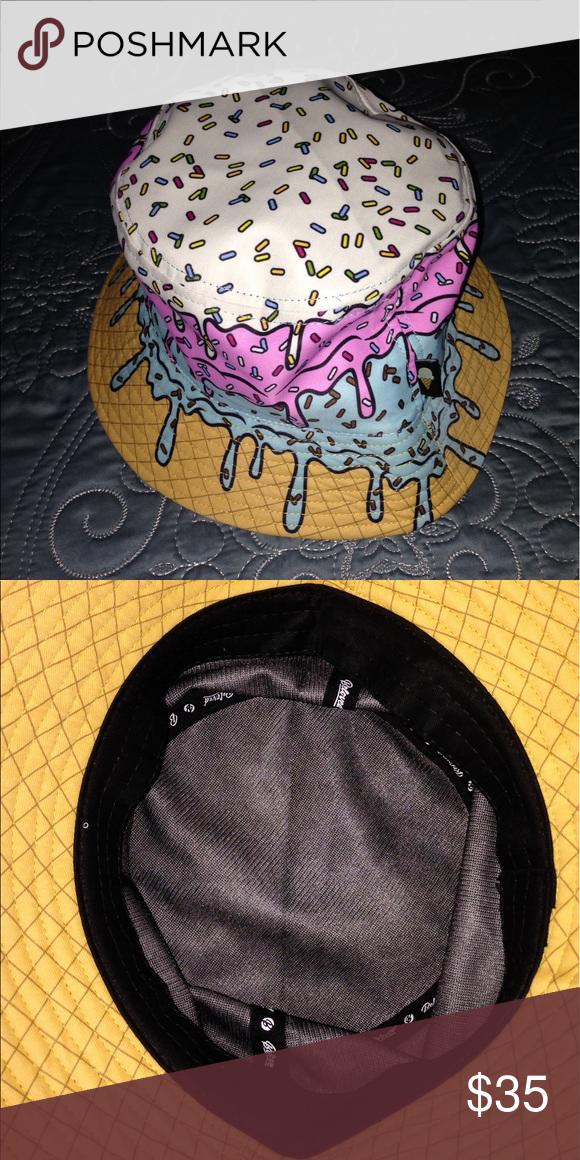 Ice cream Waffle Cone Bucket Hat Brand New Accessories Hats  43418f4b5b7