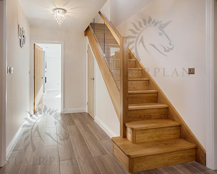 Best The Preston Oak Staircase Staircase Design Oak Stairs 400 x 300