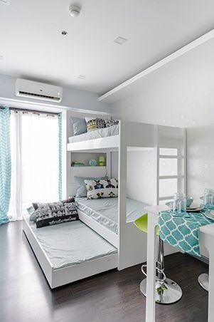 A 25sqm Unit For Five Apartment Goals Small Condo
