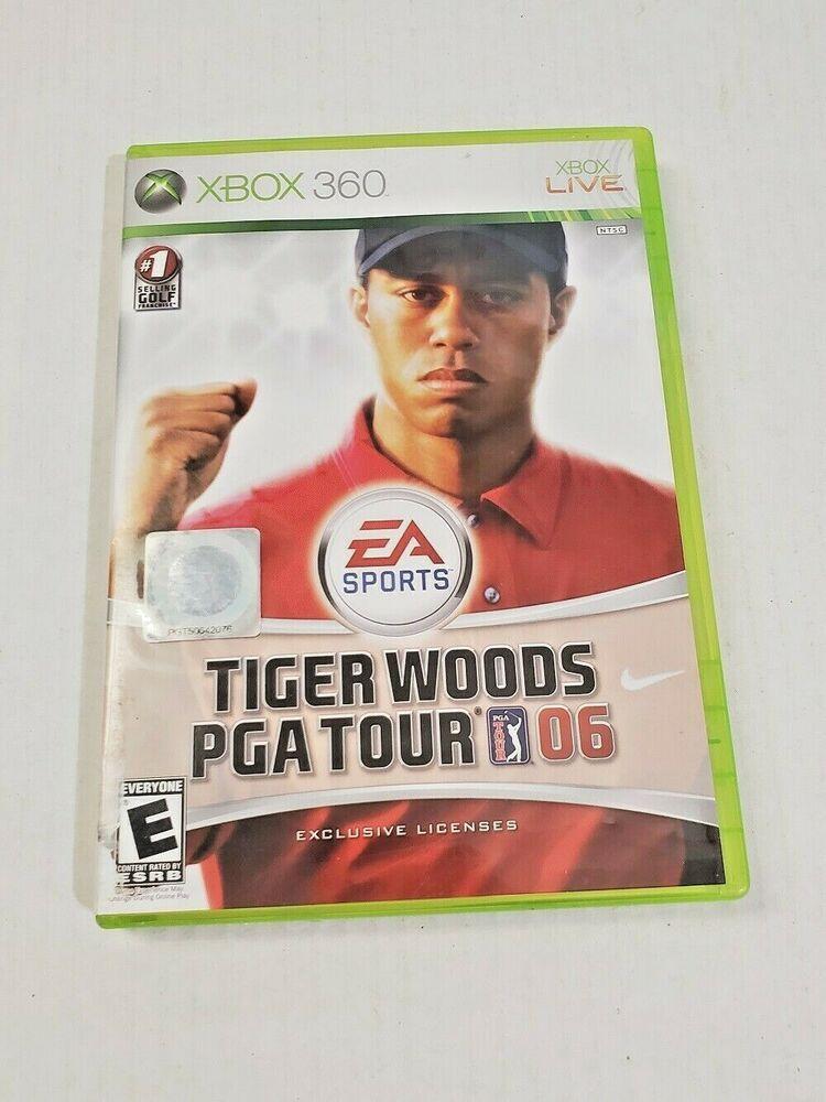 Xbox Live Tiger Woods PGA Tour 2005 Golf EA Sports Video