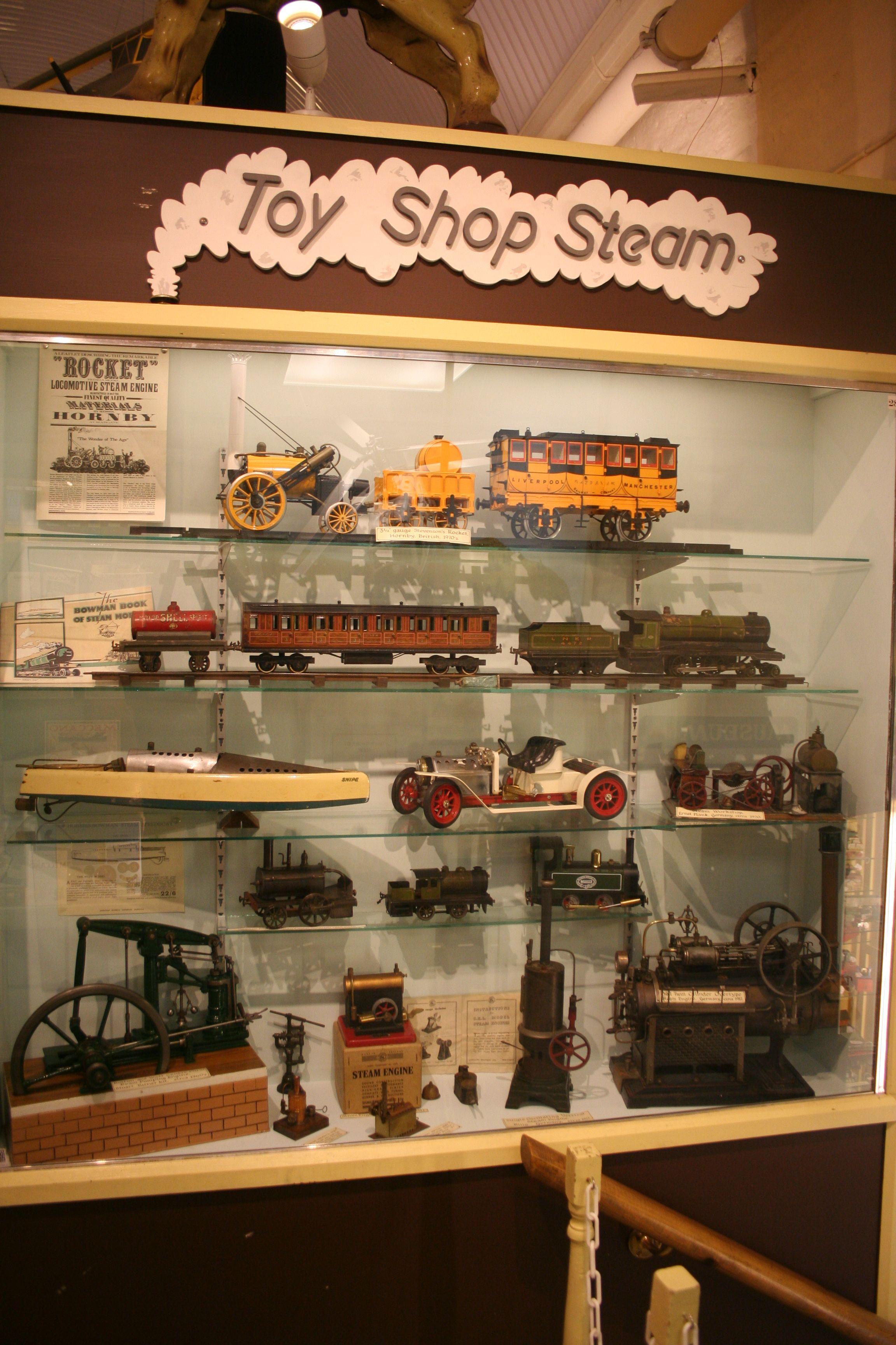 Toy Shop Steam Toys shop, Toy train, Decor