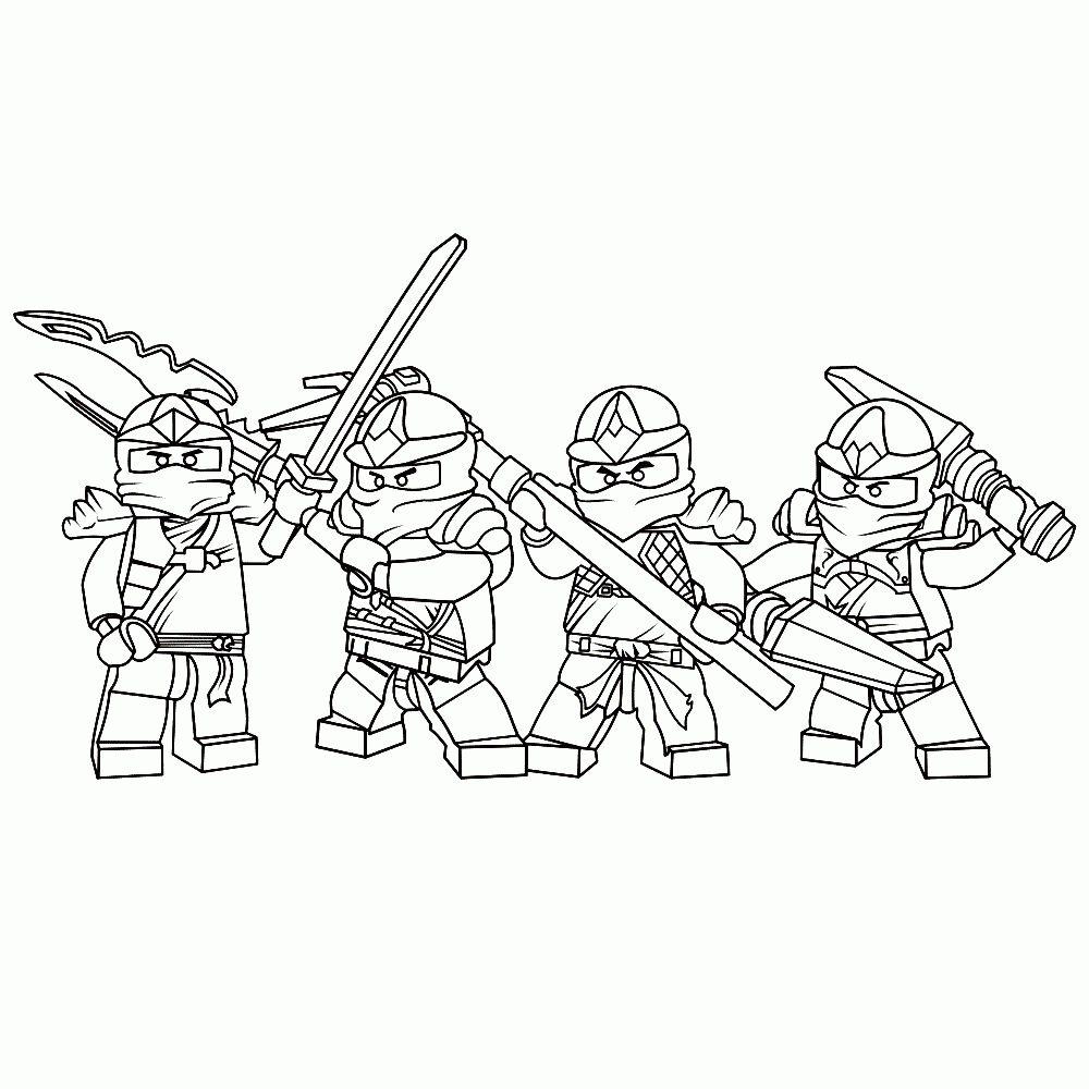 Kleurplaten Ninjago Lloyd.Stoere Lego Ninjago Kleurplaten Leuk Voor Kids Nieuwe Ninja