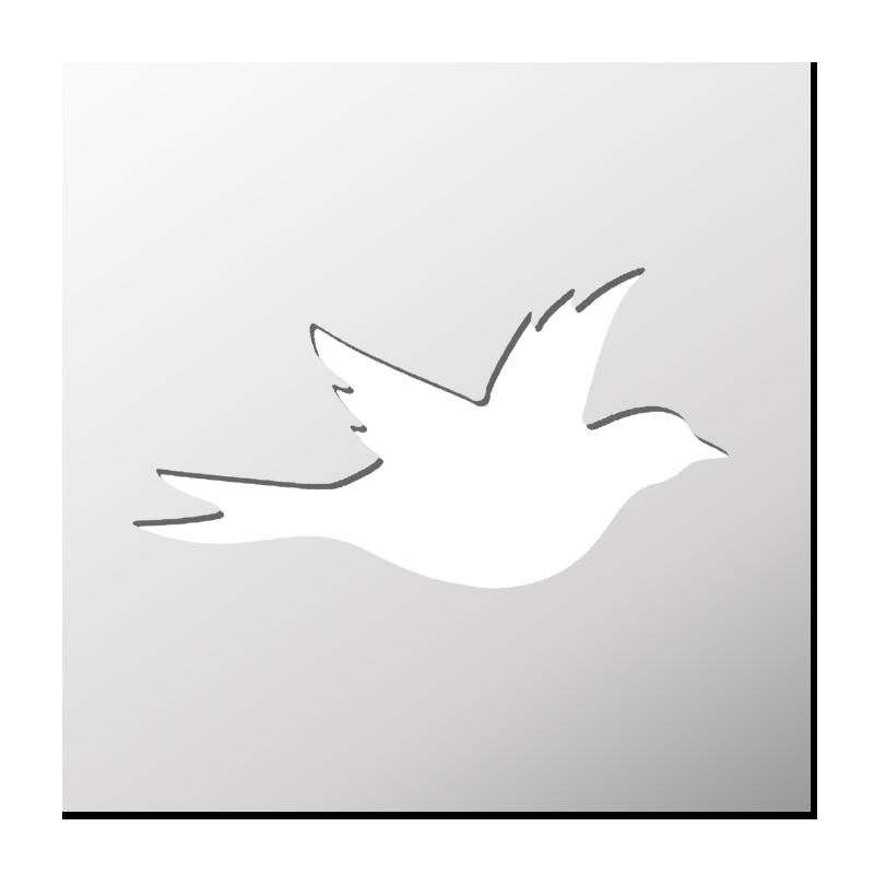 Pochoir Oiseau Pochoir Oiseau Pochoir Silhouette Oiseau