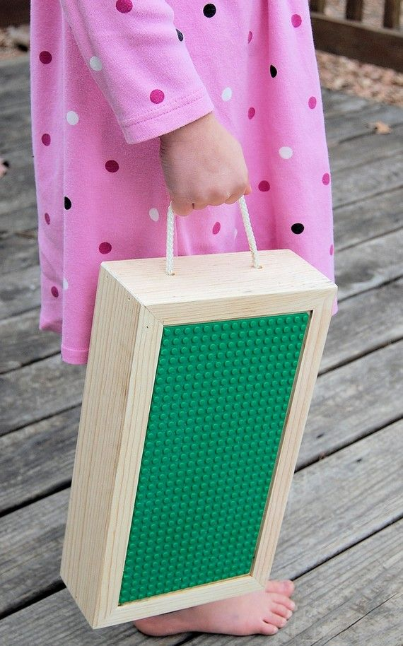 Travel Lego Storage Box. $20 Why Not Make It An DIY?