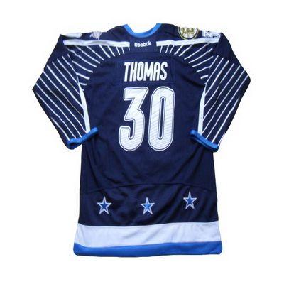 2012 NHL all star #30 Thomas blue jerseys