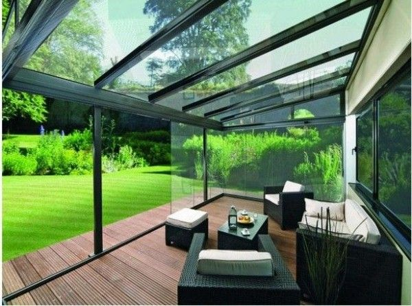 canopy of glass veranda pinterest terrasse. Black Bedroom Furniture Sets. Home Design Ideas