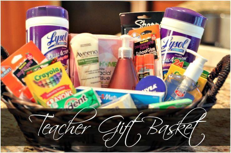 Thoughtful Teacher Gift Basket For Teachers Lounge Holidays