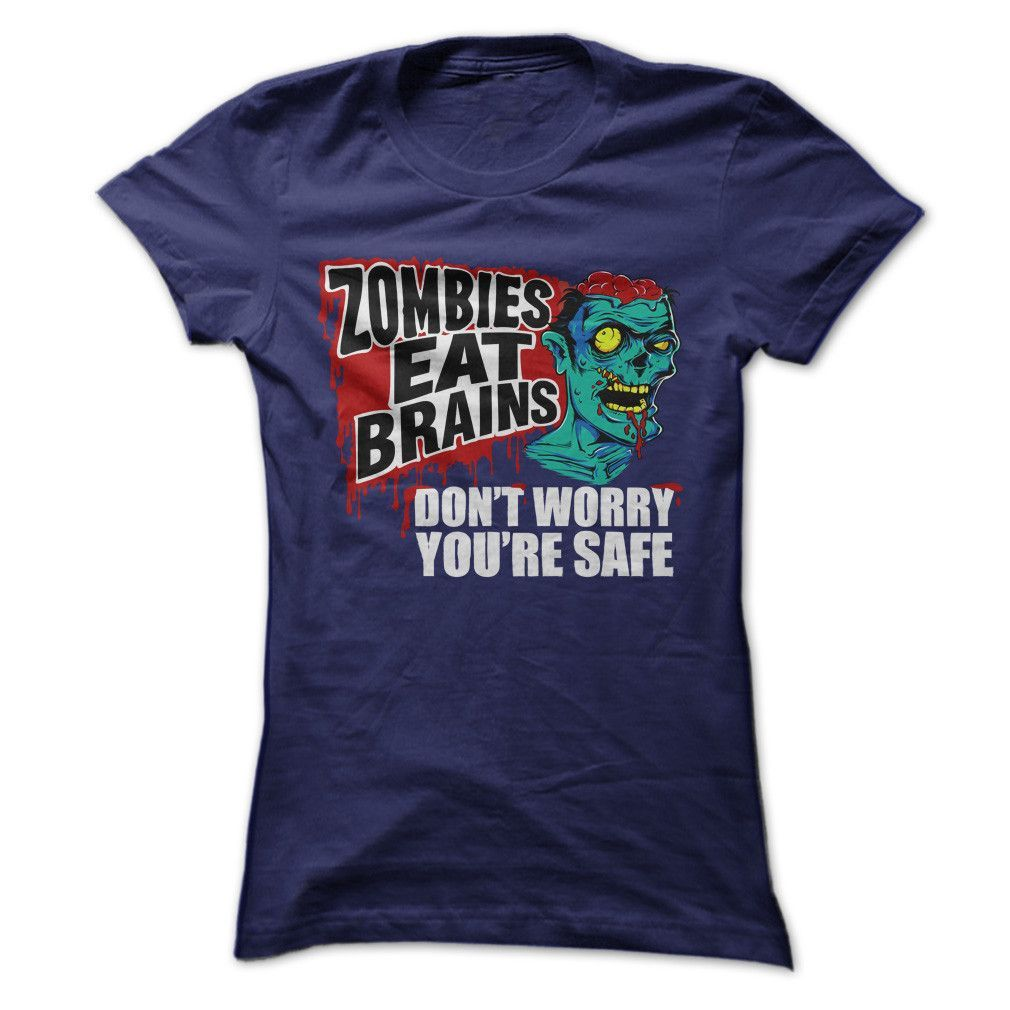 Zombies Eat Brains. Don't Worry, You're Safe.