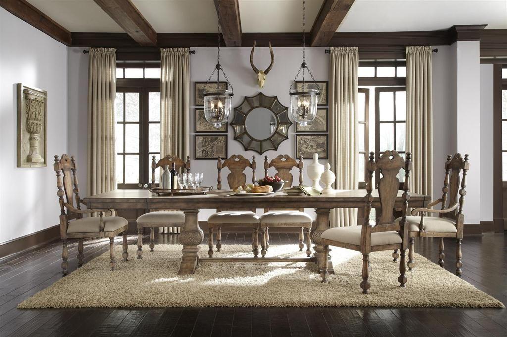 Delightful Pulaski Furniture Dining Room Desdemona Rectangular Table 201005   Hampton  House Furniture   Washington, MI