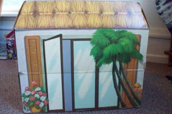 Fully Furnished Hawaiian Villa Doll House by by HeartBeatFast
