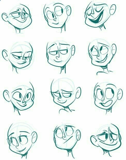 drawings faces
