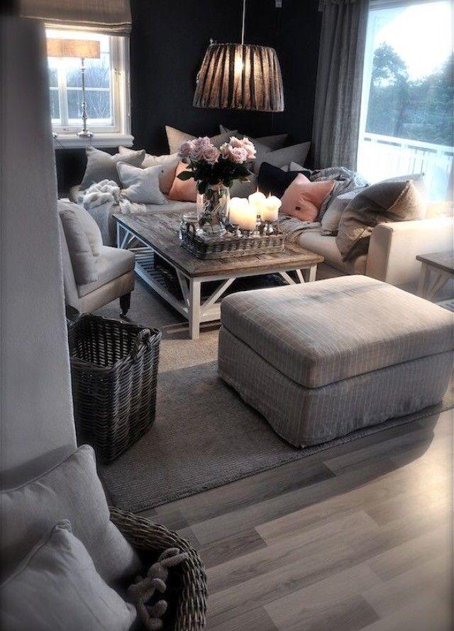 Cozy Romantic Living Room: 100+ Cozy Living Room Ideas For Small Apartment