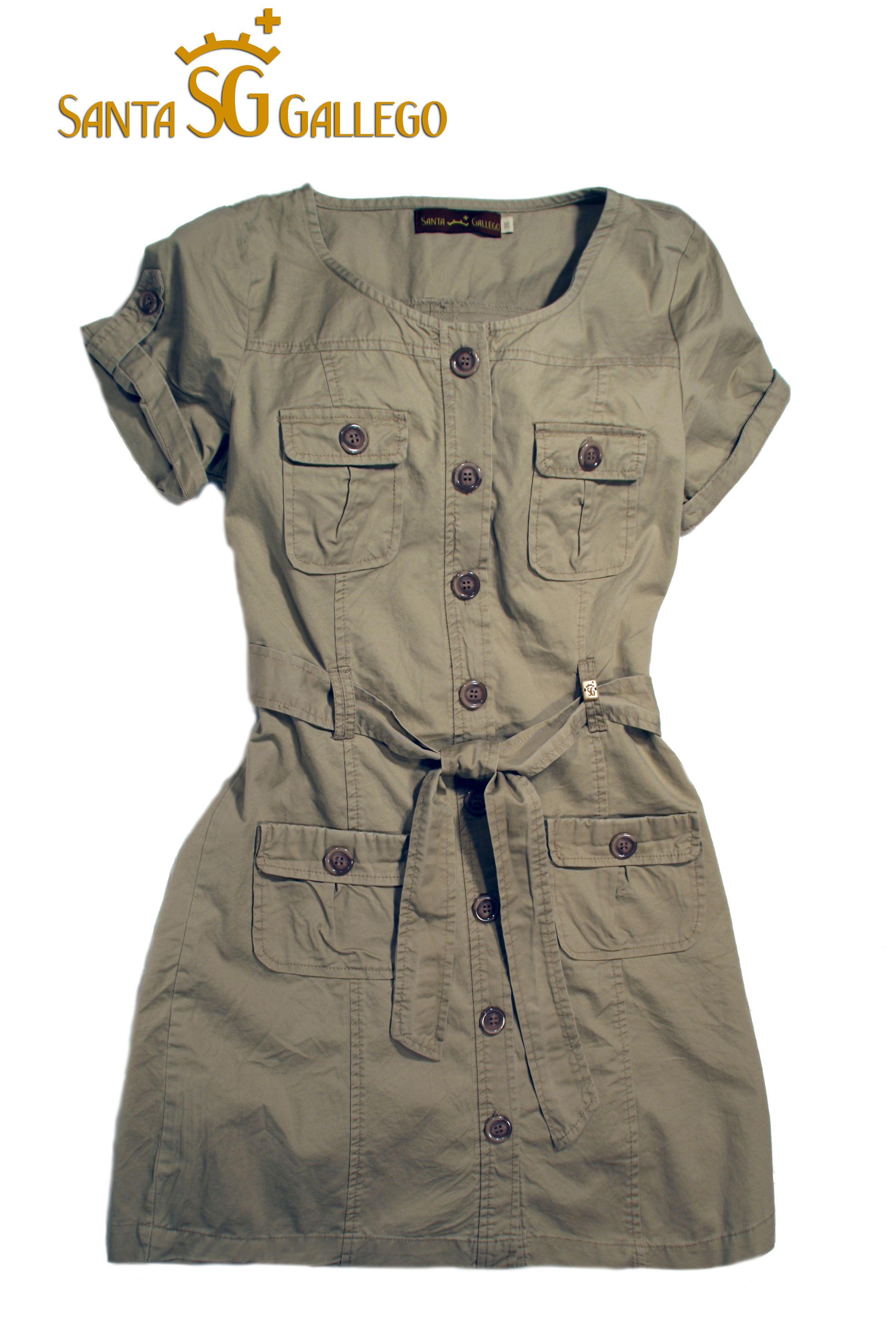 471322511 vestido safari caza | estilo safari | Fashion, Jackets e Safari