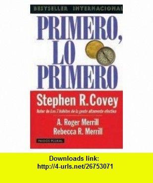 Primero Lo Primero 9788449308512 Stephen R Covey Isbn 10