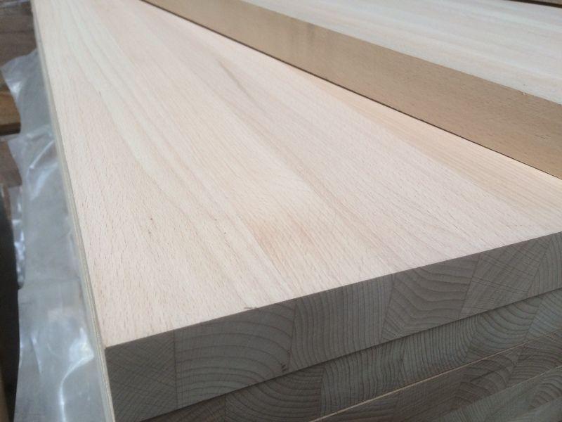Leimholzplatte Buche Holz Lamellen Massiv