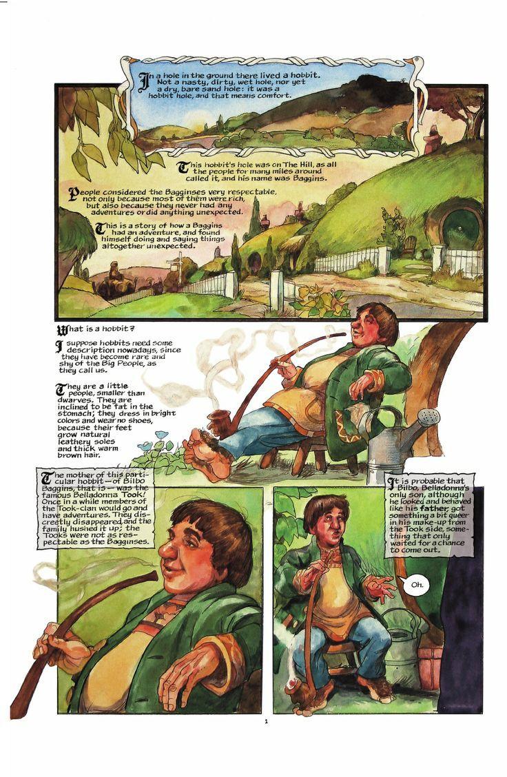 The Hobbit Graphic Novel Google Search The Hobbit Pinterest - Sad production hobbit reveals something never imagine
