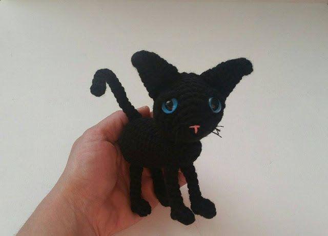 A[mi]dorable Crochet: Cat, free #crochet pattern, amigurumi, cat ...