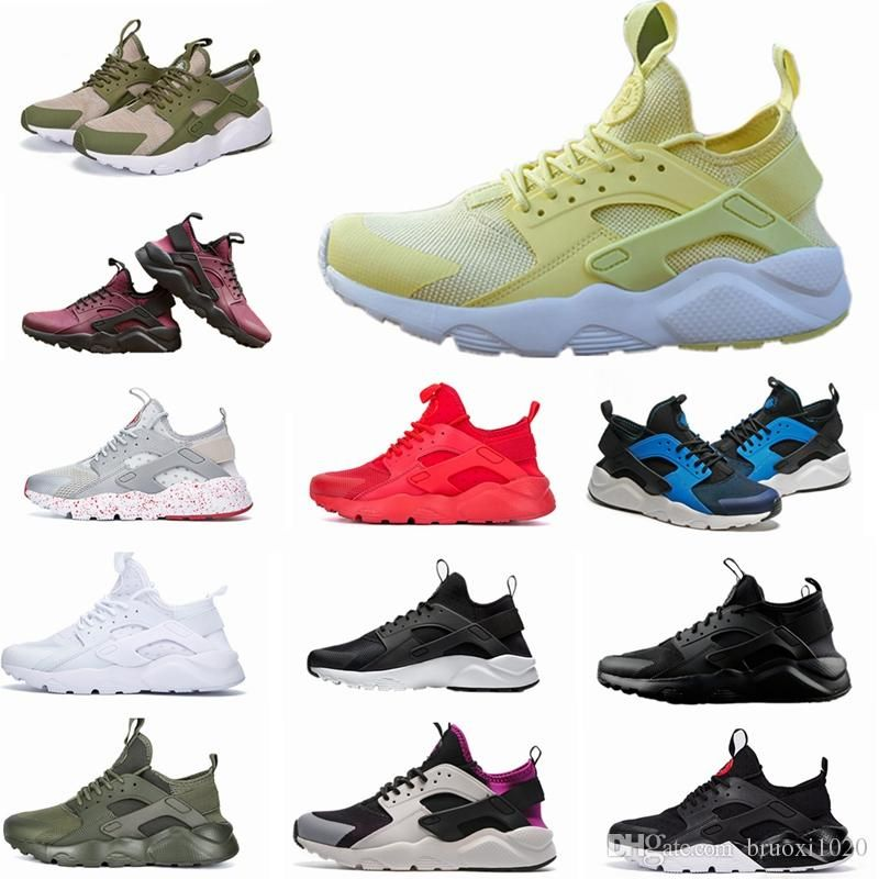 1205dbd3624 2018 New Huarache IV Ultra Running Shoes Huraches Trainers for Men   Women  Multicolor Shoes Triple Huaraches Sneakers Huarache Huaraches Huarache  Ultra ...