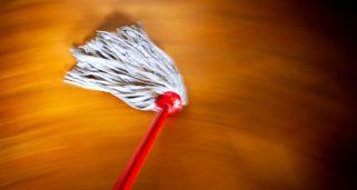 Limpiar suelos de sintasol o vinílicos