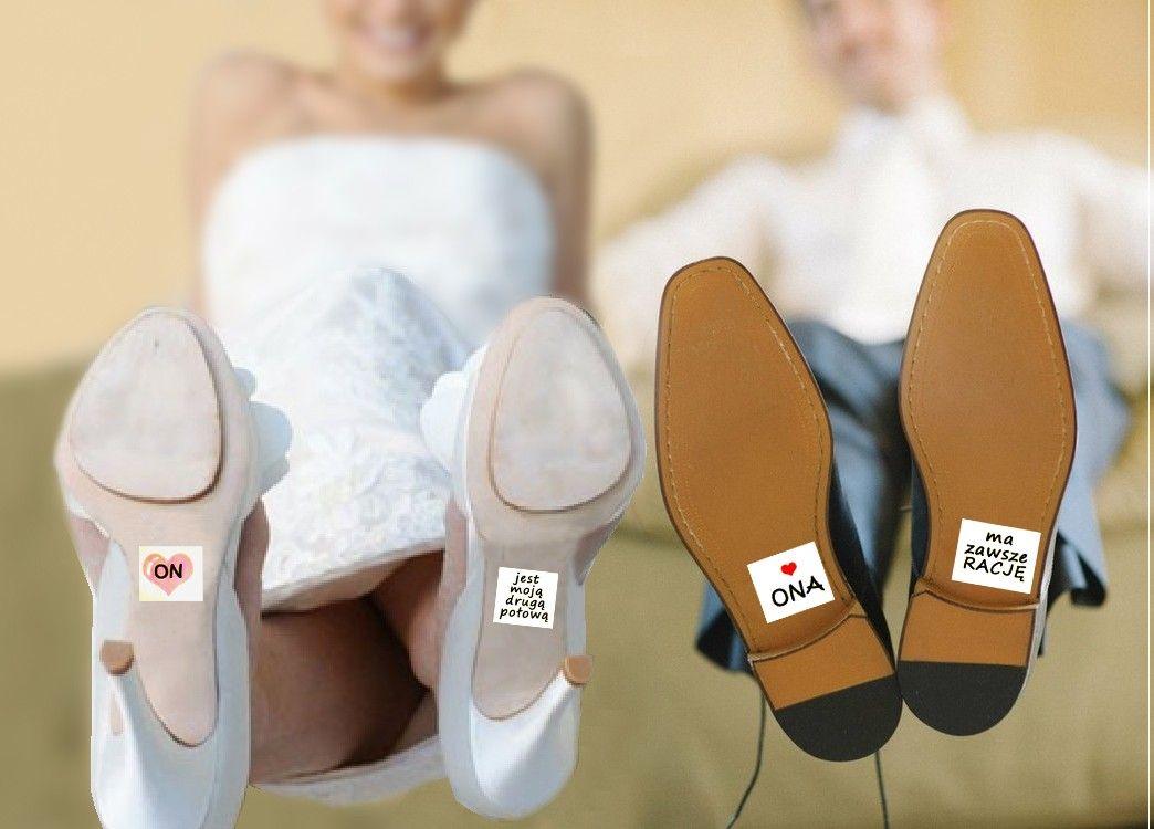 Naklejki Na Buty Dla Pary Mlodej Dream Wedding Wedding Wedding Shoe