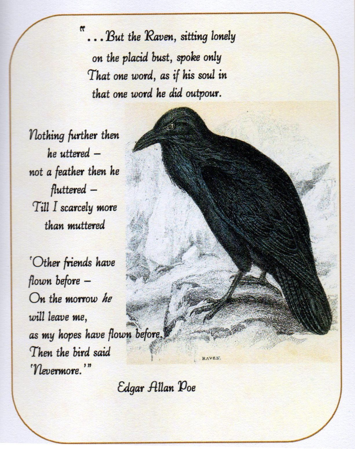 Image Result For The Raven Poe Picture And Wolf Poem Context