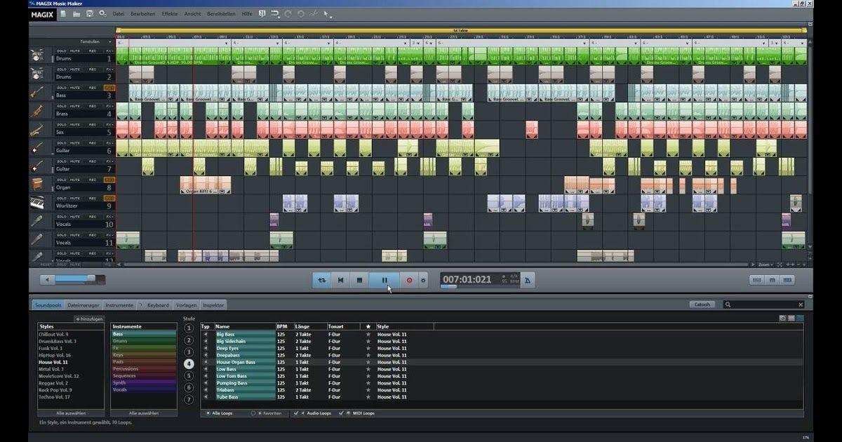 MAGIX Music Maker 2016 Einführungsvideo Tutorial (DE