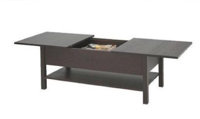 Ikea Kolsvik Coffee Table With Sliding Top Storage And Extra Leaf